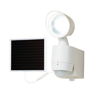 All-Pro LED Solar Power Outdoor Security Flood Light with Motion Sensor