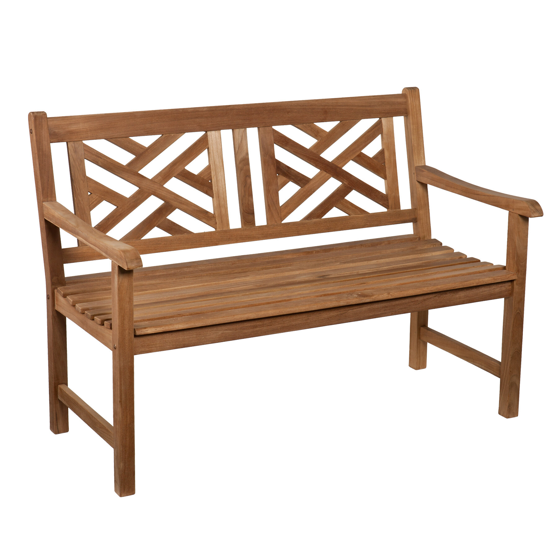Wildon Home ® Randall Teak Garden Bench & Reviews | Wayfair