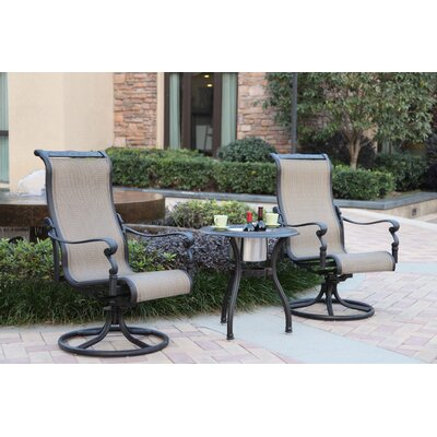 Bagwell 3 Piece Bistro Set by Darby Home Co 2020 Sale