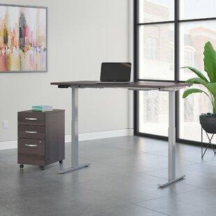 Bush Business Furniture Move 60 Series 2 Piece Desk Office Suite