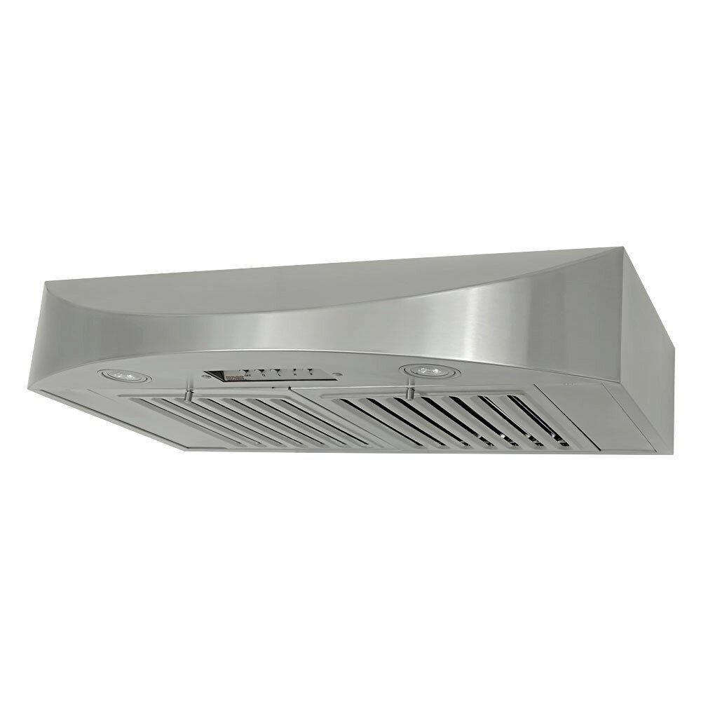 30 Brillia 650 Cfm Ducted Under Cabinet Range Hood Reviews Allmodern