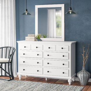 Harrison 8 Drawer Dresser with Mirror