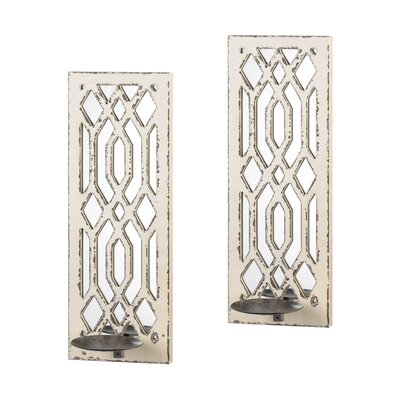Deco Mirror Wall Sconce