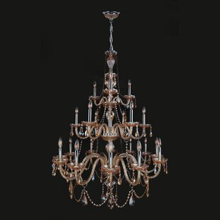 Doggett 21-Light Chandelier by Astoria Grand