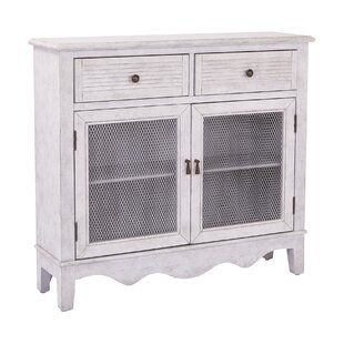 Margaux Storage 2 Door 2 Drawer Accent Cabinet by August Grove