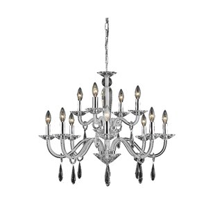 Halton 12-Light Chandelier by House of Hampton