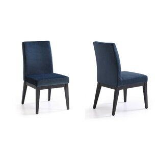 Brayden Studio Tyra Upholstered Dining Chair (Set of 2)
