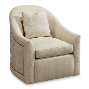 Carolin Swivel Armchair by One Allium Way