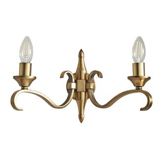 Marlow Home Co Maurice 2 Light Candle Wall Light Reviews Wayfair Co Uk