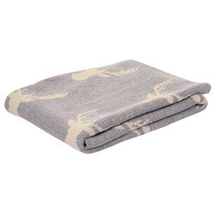 Compare prices Plummer Deer Baby Blanket ByHarriet Bee