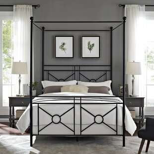 Berkey Queen Canopy Bed by Winston Porter