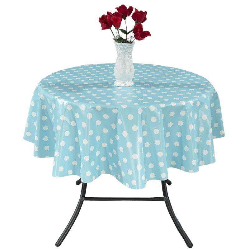 Zipcode Design Rue Vinyl Indoor/Outdoor Tablecloth & Reviews   Wayfair