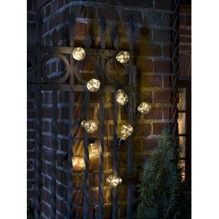 Beer Garden Party 10-Light LED Festoon Light By Konstsmide
