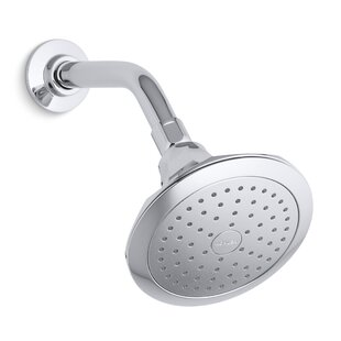 Kohler Memoirs 2.5 GPM Single-Function Wall-Mount Shower Head with Katalyst Air-Induction Spray