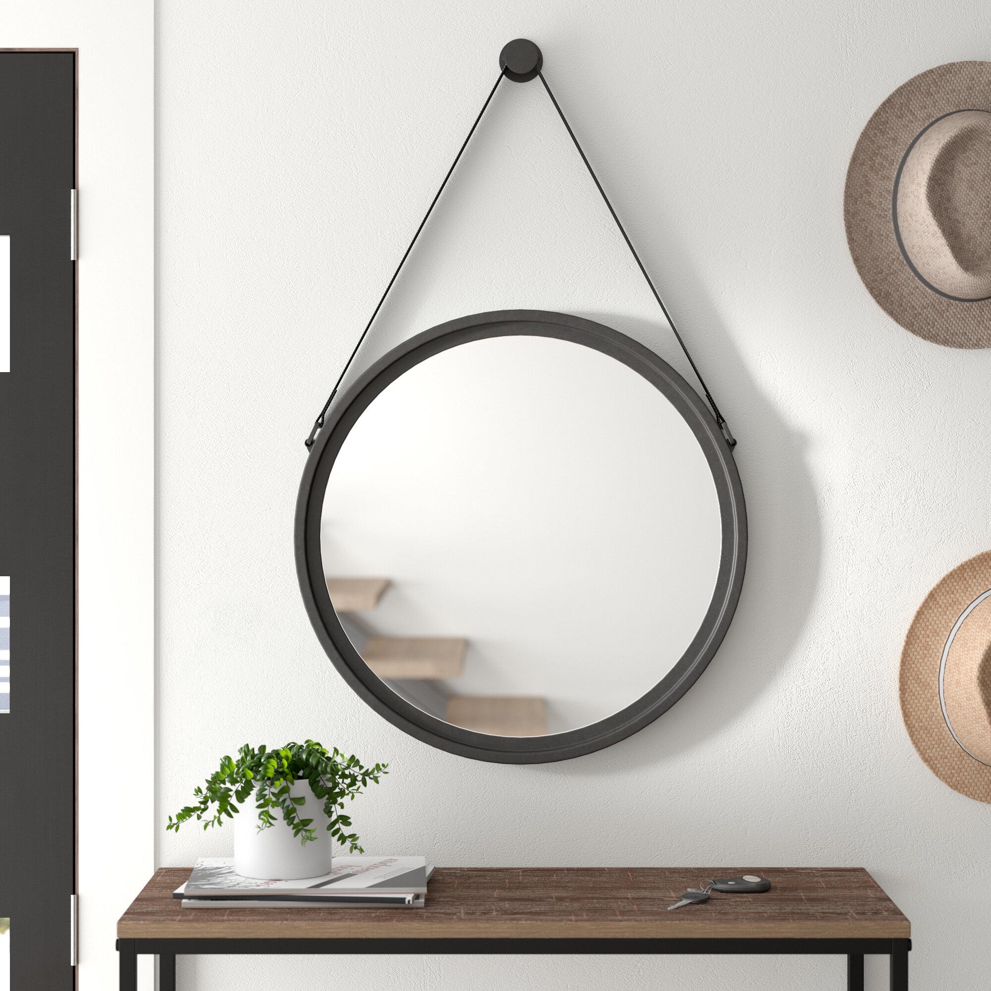Modern Round Mirrors Allmodern