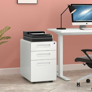Brodie 3 Drawer Filing Cabinet By Mercury Row