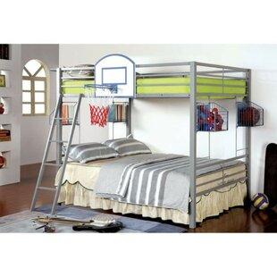 Rodden Metal Full Over Full Bunk Bed by