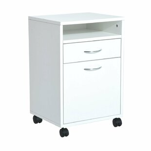 Serenity 24 Rolling End Table with Storage by Ebern Designs