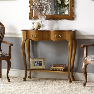 Canora Grey Royce Console Table with Shelf