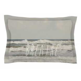 Cristina Mitchell 'Breathe' Floral Photography Sham by East Urban Home Today Only Sale