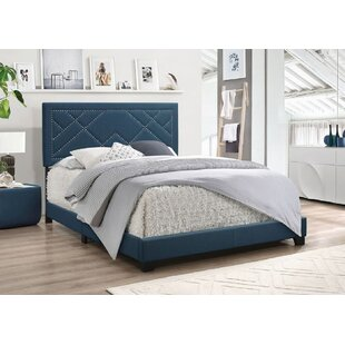 Rhianna Upholstered Panel Bed by Everly Quinn
