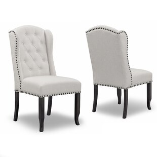 Darby Home Co Chevaliers Upholstered Dining Chair (Set of 2)
