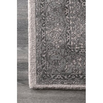 Aryana Hand Tufted Wool Gray Area Rug Joss Main