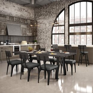Everly 9 Piece Dining Set by 17 Stories Today Sale Only