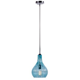 Wildon Home ? Darcy 1-Light Teardrop Pend..