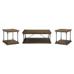 Trent Austin Design Mabie 3 Piece Coffee Table Set