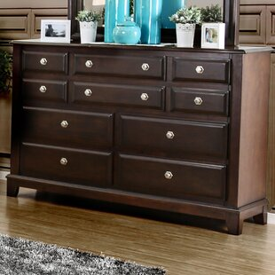 Daleville 10 Drawer Double Dresser