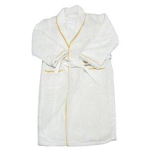 Spa and Bath European Waffle Weave Terry Cloth Robe 82e5c4cd9