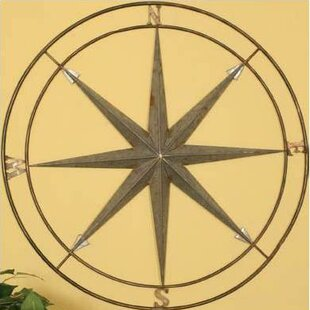 Beau Traditional Compass Wall Décor