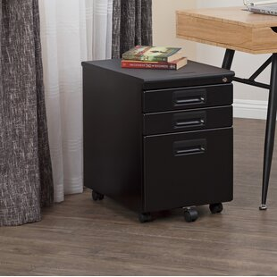 Elora 3-Drawer Office Storage Vertical Filing Cabinet by Symple Stuff Great Reviews