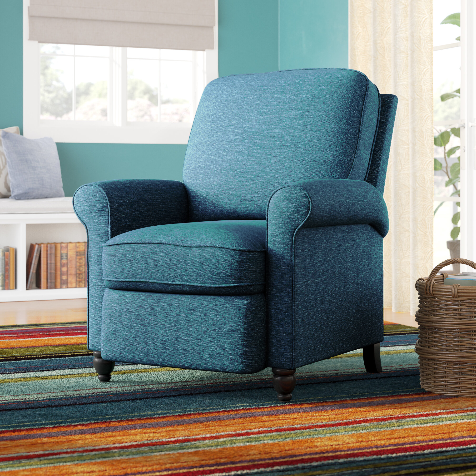 Andover mills leni manual recliner reviews wayfair