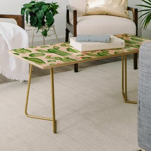 Heather Dutton Cactus Gardens Coffee Table by East Urban Home