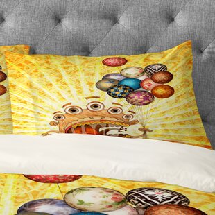 Jose Luis Guerrero Monster Pillowcase