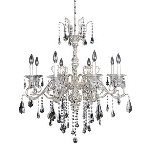Allegri by Kalco Lighting Haydn 8-Light Candle Style Chandelier