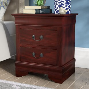 Read Reviews Oldbury 2 Drawer Nightstand by Darby Home Co