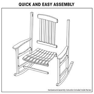 Remarkable Mod Rocking Chair Wayfair Lamtechconsult Wood Chair Design Ideas Lamtechconsultcom