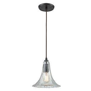 Deatherage 1-Light Bell Pendant by Charlton Home