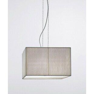 Seward 4-Light Square/Rectangle Pendant by Brayden Studio