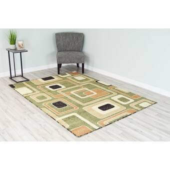 East Urban Home Mysterious Landscapes 40 Black Area Rug Wayfair