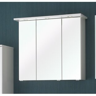 Carina 75 X 70cm Mirrored Wall Mounted Cabinet By Quickset
