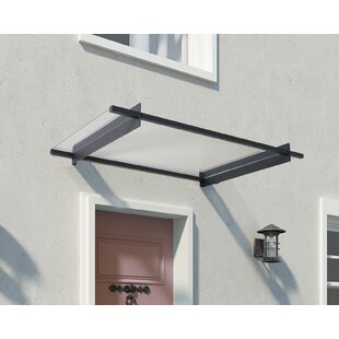 Nancy 4.9 ft. W x 3 ft. D Door Awning by Palram