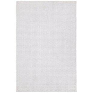 Reviews Arctarus Hand-Woven White Area Rug ByOrren Ellis