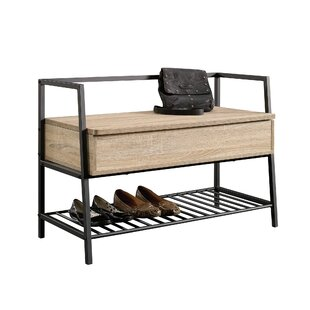 Pleasing Ermont Wood Storage Bench Caraccident5 Cool Chair Designs And Ideas Caraccident5Info