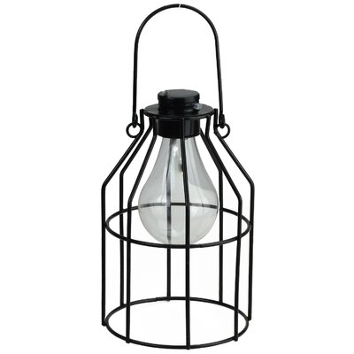 Williston forge wilson solar powered 1 light led outdoor hanging bennett jug shaped solar powered 1 light led outdoor hanging lantern workwithnaturefo