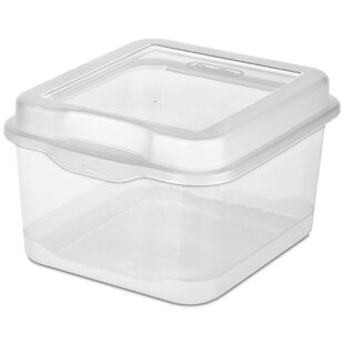 Small Flip Top Storage Box (Set Of 12)