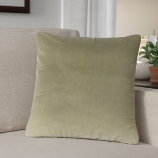 Theriault Solid Cotton Throw Pillow (Set of 2)